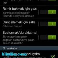 Galaxy S3'te Ekran Görüntüsü 1