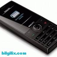 Philips Xenium X501 telefon