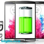 LG G3 batarya ömrü