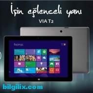 Casper VIA T2 Tablet Bilgisayar