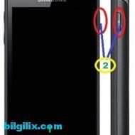 Samsung Galaxy W Ekran Görüntüsü Alma