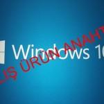 Windows 10 Etkinleştirirken Hata kodu: 0xC004C003 Hatası Veriyor