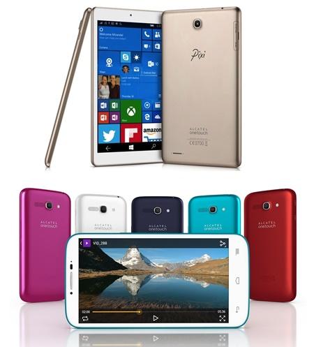 Alacatel akıllı telefon tablet akıllı saat liste
