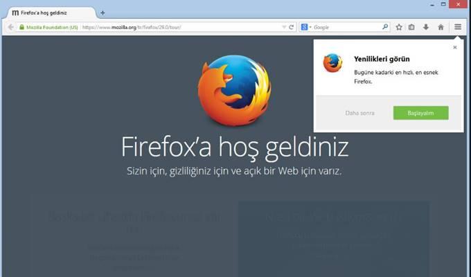 Chrome İçin En İyi Alternatif Tarayıcı - Mozilla Firefox İndir