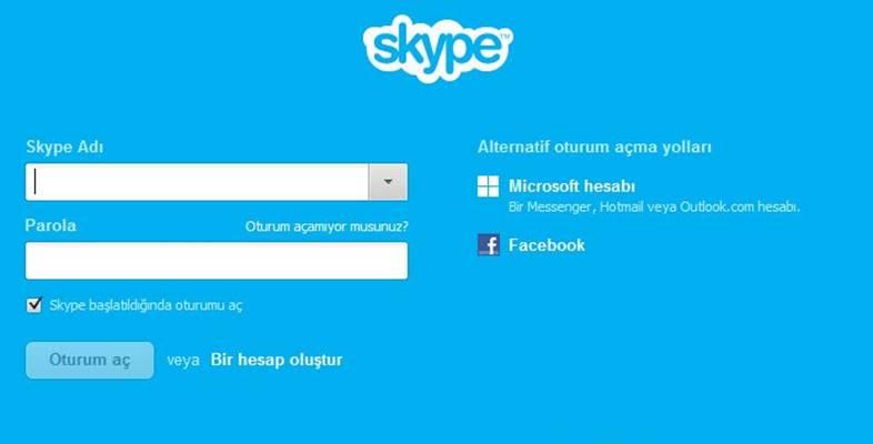 Windows PC İçin Skype İndir