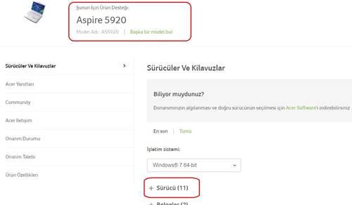 Acer Aspire 5920 Laptop Wifi Acma Kapama Sorunu Tusu