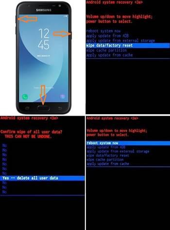 Samsung Galaxy J3 (2017) Format Atma Nasıl Yapılır?