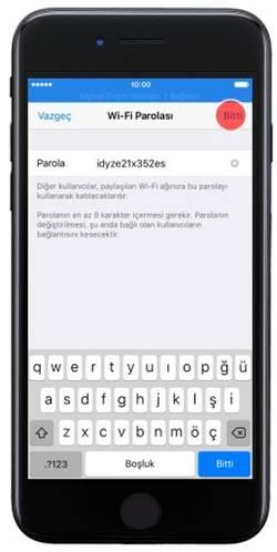 Hotspot Iphone 7 >> Iphone 7 Modem Hotspot Yapma Interneti Paylasma Nasil Yapilir
