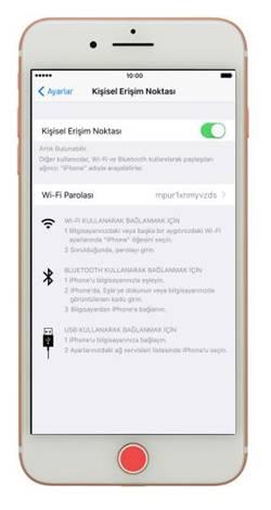 Hotspot Iphone 7 >> Iphone 7 Plus Modem Hotspot Yapma Interneti Paylasma