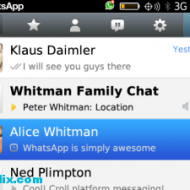 WhatsApp Messenger blackberry