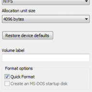 Windows 7 Kurtarma Konsolu Oluşturma